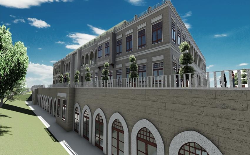 Kütüphane ve İslami İlimler Fakültesi binaları 2020 yatırım planına alındı