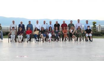 BAŞKAN EKİCİOĞLU CHP'Lİ BELEDİYE BAŞKANLARI TOPLANTISINA KATILDI