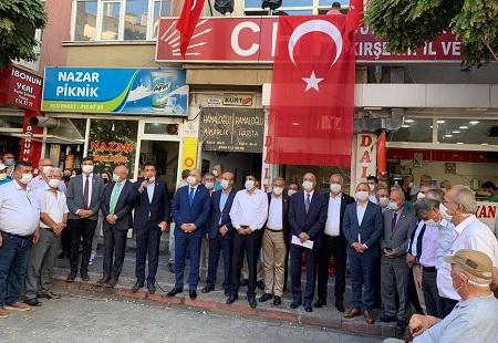 CHP Milletvekili Metin İlhan arbedeye ilişkin basın açıklaması yaptı