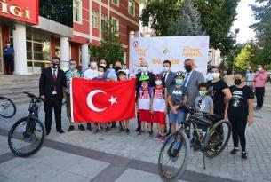 Ahilik Bisiklet Turu düzenlendi