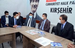 CHP'Lİ AĞBABA VE TOPRAK KIRŞEHİR'DEYDİ