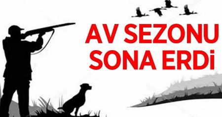 AV SEZONU SONA ERDİ