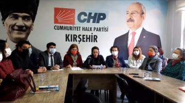 CHP KADIN KOLLARI'NDAN 'KADINLAR GÜNÜ' AÇIKLAMASI