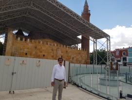 BAYRAM ALTUNTAŞ'TAN CACABEY CAMİSİ RESTORASYON SORUSU!