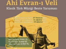 Klasik Türk Müziği Beste Yarışması sonuçlandı