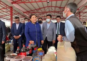 Başkan Seher Ünsal Kaman halkıyla buluştu