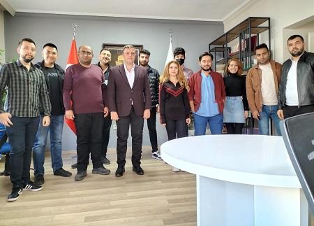 Kırşehirliler Vakfı Gençlik Kolları Başkanlığı'na Kemal Burak Gökbulut getirildi